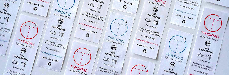 Tipografia la marina - care label per settore moda