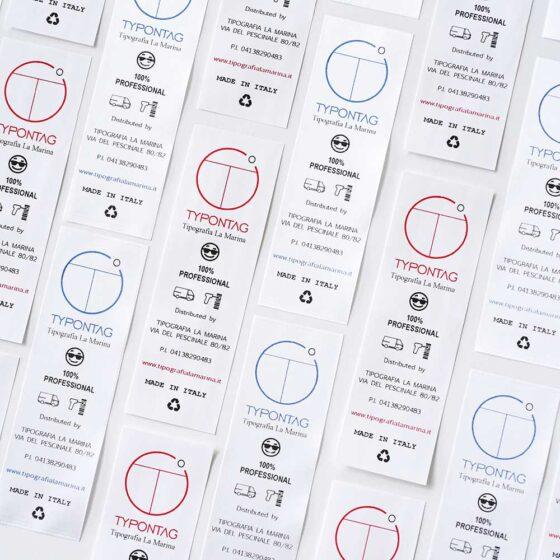 Tipografia La Marina - stampa care label per settore moda