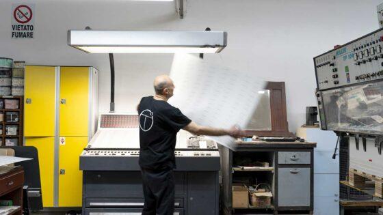 Tipografia La Marina - stampa cartellini per settore moda